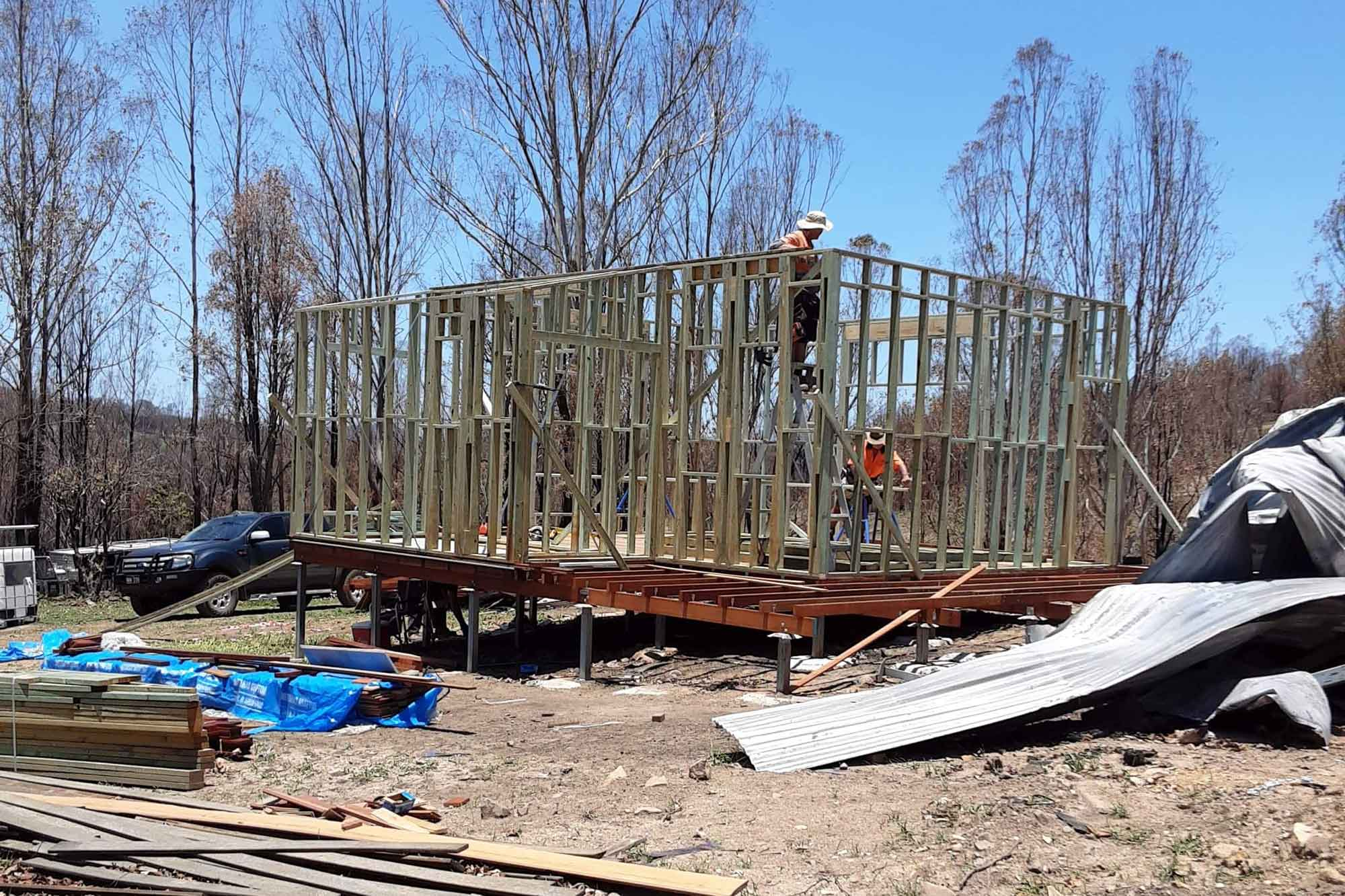 Home Build Frickers Road Nymboida
