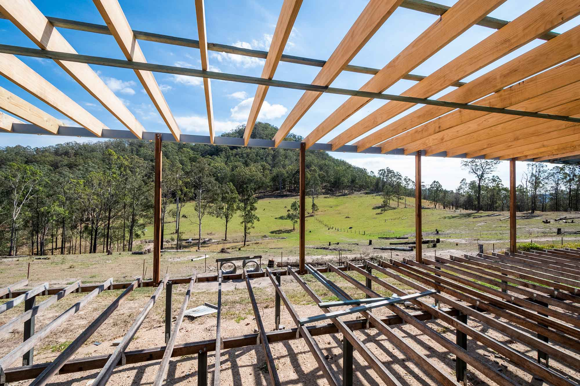 Home Build Laytons Road Nymboida